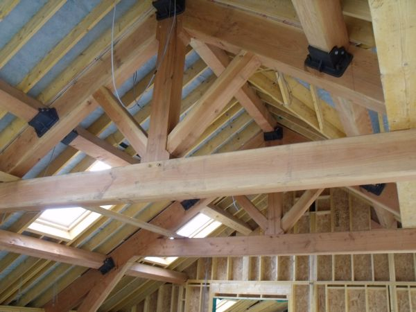 Ballytrim Sawmills Green Oak Beams And Timber Framed